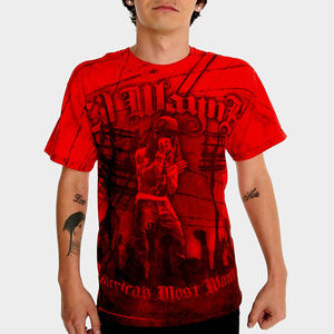 Lil Wayne America's Most Wanted Tie Dye T-Shirt M